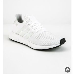 White adidas swift runs